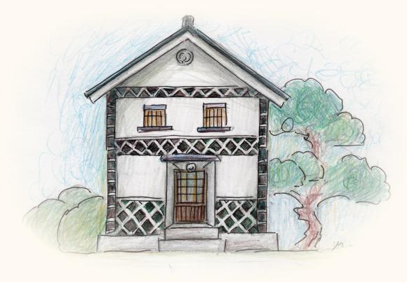 蔵・土蔵の新築、リフォームのなまこ壁